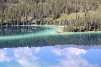 Emerald Lake near Yukon