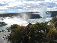On of the reasons we booked this cruise/tour--Niagara Falls