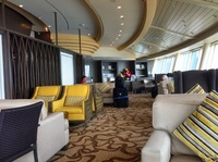 Diamond Club lounge.