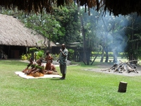 Fiji Fire Walking