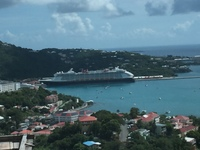 View of ship from St. Thomas