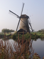 Holland windmill