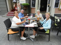 Nice balance of escorted tours and free time to enjoy a beverage.