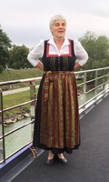 Lady in Austrian costume.