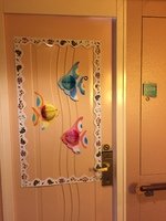 8350 - door decorated for the Carribean