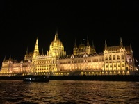 Parliament at Night, Budapest, Hungary