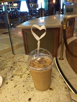 love the International Cafe iced lattes - get the coffee card