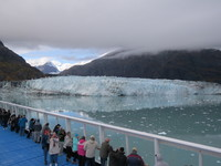 Getting up close and pesonal with a Glacier