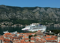 View of Oceana from Kotor path
