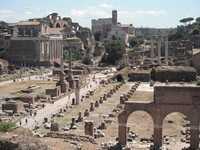 Rome the Forum