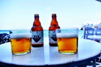 A beautiful day with Greek beer!