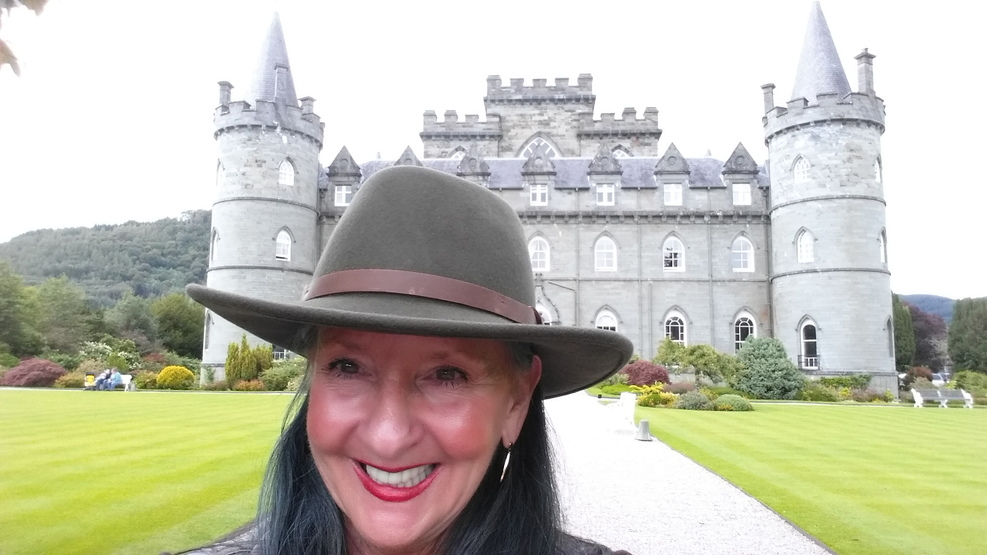 Princess Shore Excursion of INVERARAY CASTLE in Scotland