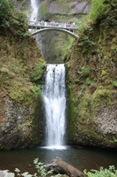 Multnomah Falls - - one of the shore excursions