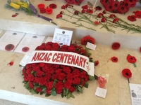 Centenary at Lone Pine cemetery, Gallipoli