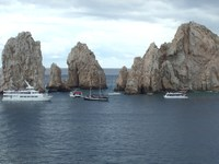 Traffic in Cabo San Lucas