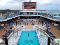 Royal Princess pool and spas.