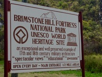 Brimstone Hill Fortresson St. Kitts