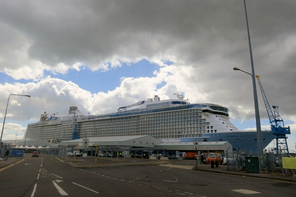 Anthem of the Seas in Southampton