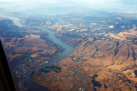 The Columbia River at The Dalles