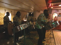 Local steel drum band - Grenada