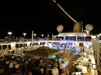 White Nights deck party on Azamara Quest