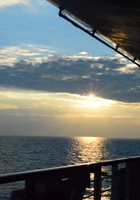 sunrise on deck