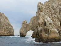 Los Arcos - the end of the earth.