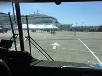 Port of Los Angeles/San Pedro Tent City for Passenger Embarking