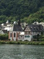 cruising along the Moselle