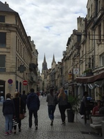 Downtown Caen, France