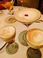 Espresso Martini and Hot Coffee drinks