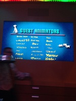 Best part onboard animators restaurant