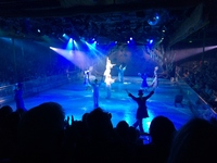 Excellent ice show ... a real bonus