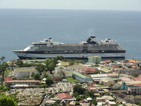 Celebrity Summit docked at Dominica