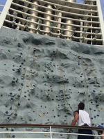 Rock Climbing Wall - a good challenge