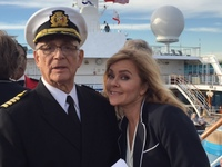 Gavin Macleod and Jill Whelan