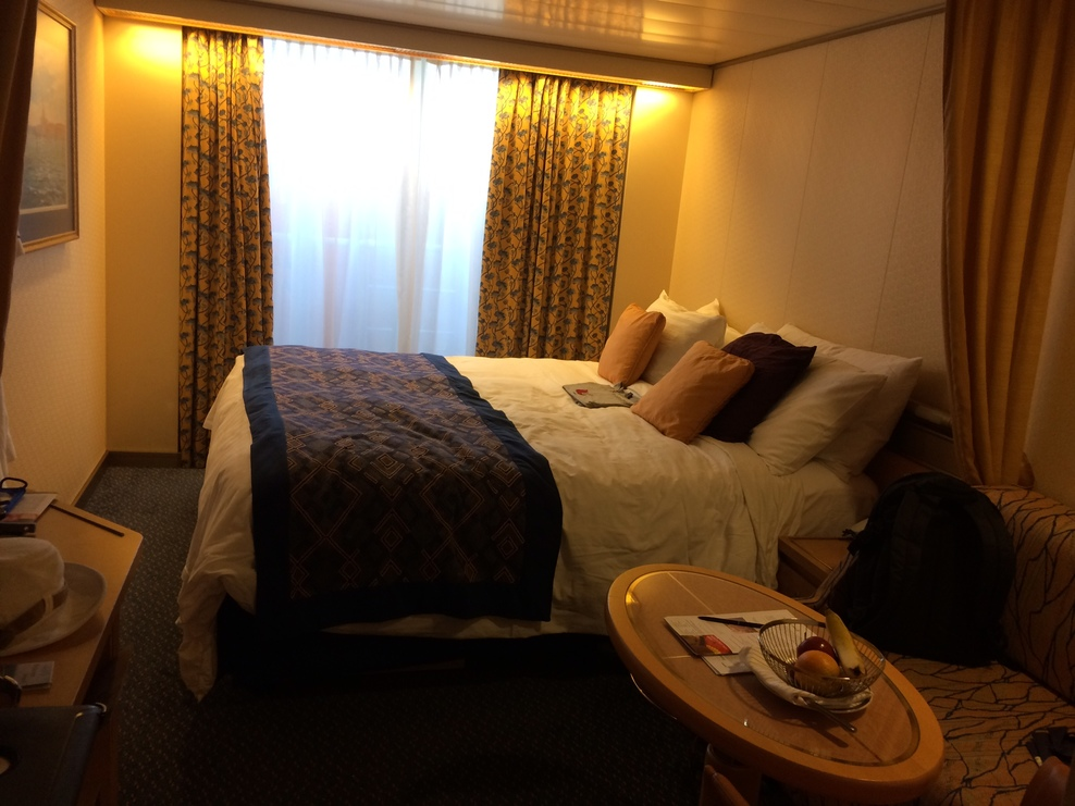 Large window makes up for the obstructed view, Noordam 4065