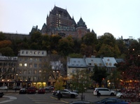 Quebec in Evening