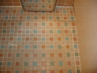 Bathroom floor Neptune Suite 7004