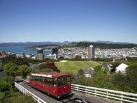 Cable Car in Wellington, NZ