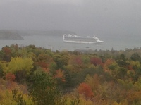 View from Acadia Park