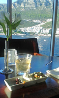 In the Windows Cafe, after a hard day in Kas, Turkey