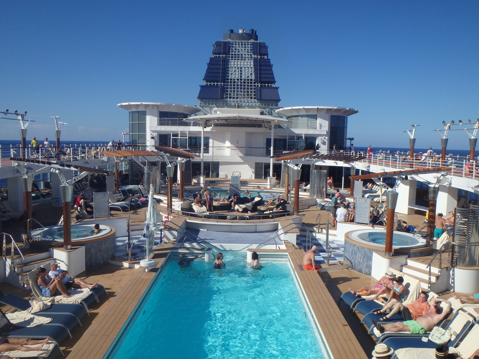 Pool Spa Fitness On Celebrity Infinity Cruise Ship