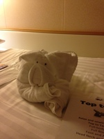 Steward's towel art