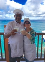 """At the """"Salsa and Salsa"""" excursion in Cozumel. Best time!"""