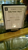 Daily Trivia found in the Library (7th Deck)