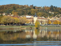 Cruising Saone River from Lyon to Belleville