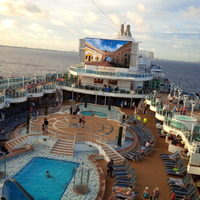 Sail Away Party & Pool Area Royal Princess Nov 20