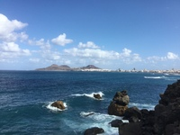 Beautiful Shoreline in Las Palmas