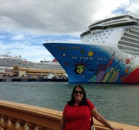 In port at Puerto Rico